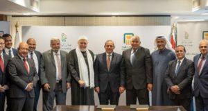 الاهلي المصري وبروتكول مع شركه جنان الوادي